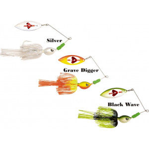 Spinnerbait BLACK CAT Big Bait