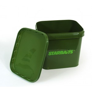 Hranaté vedro STARBAITS Square Bucket