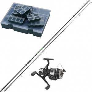 SET = prút MITCHELL Advanta Carp + navijak 60 FR + box ESOX Carp