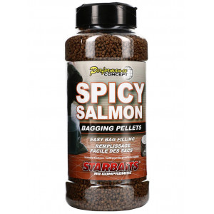 Pelety STARBAITS Spicy Salmo Bagging Pellets