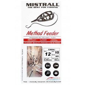 Nadväzec MISTRALL Method Feeder MF1 s tŕňom