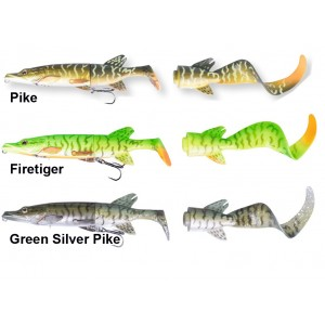 Vobler SAVAGE GEAR The 3D Hybrid Pike 17cm