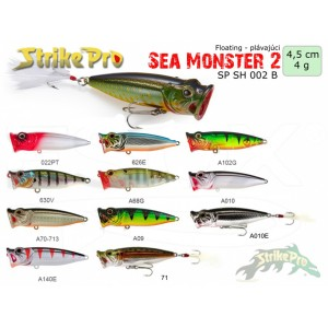 Vobler STRIKE PRO Sea Monster II Popper