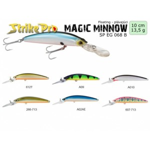 Vobler STRIKE PRO Magic Minnow 10cm