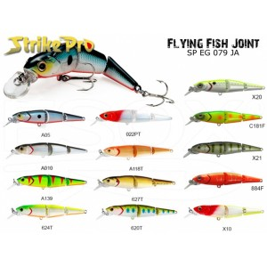 Vobler STRIKE PRO Flying Fish Joint 9cm