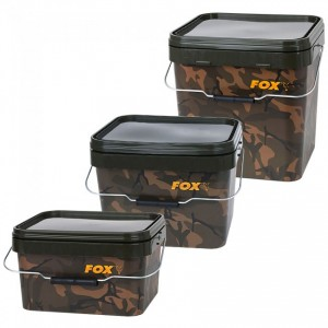 Vedro FOX Camo Square Carp Buckets