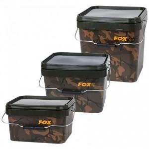 Vedro FOX Camo Square Carp Buckets