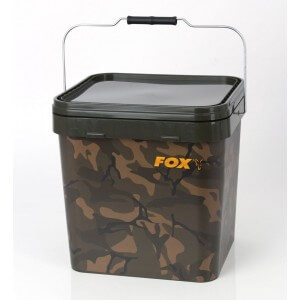 Obrázok 2 k Vedro FOX Camo Square Carp Buckets