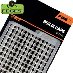 Zarážky FOX Boilie Caps Clear