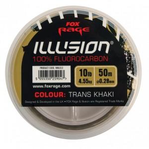 Vlasec FOX Illusion Soft Fluorocarbon Trans khaki