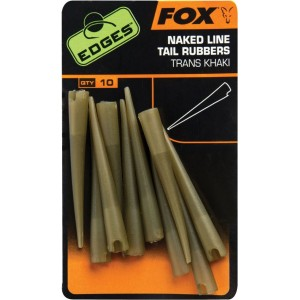 Hadičky FOX Edges™ Naked Line Tail Rubbers