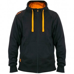 Mikina FOX Black/ Orange Lightweight Zipped Hoody