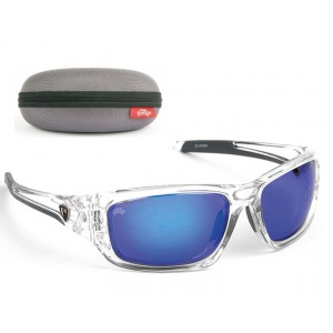 Okuliare FOX Rage Trans Frames/ Brown Lens Mirror Blue Eyewear