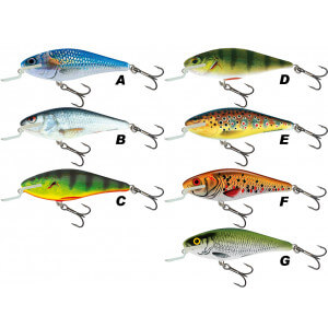 Vobler SALMO Executor Shallow Runned 7cm