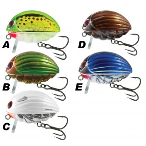 Vobler SALMO Bass Bug Floating 5,5cm