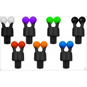 Guľôčkové klipy FOX Black Label Coloured Ball Clips