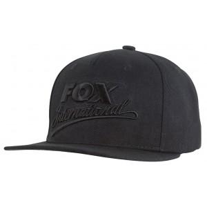 Šiltovka FOX Black Camo Snap Back Speci