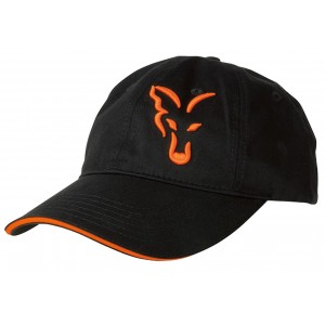 Šiltovka FOX Black & Orange Baseball Cao