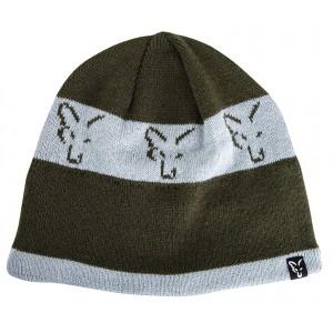 Čiapka FOX Green/ Silver Beanie