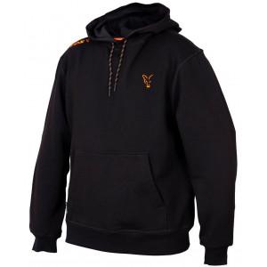 Mikina FOX Collection Orange Black Hoodie