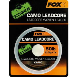 Nadväzcová šnúra FOX Edges Camo Leadcore