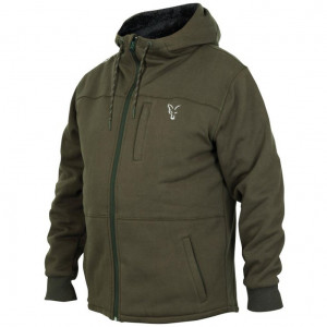 Zatepletná mikina FOX Sherpa Hoody Collection Green/ Silver
