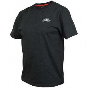Tričko FOX Rage Black Marl Tee Short Sleeve