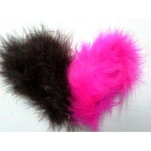 Perie Marabou knot