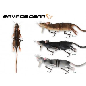 Nástraha SAVAGE GEAR 3D Rat
