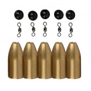 Sada závažia SAVAGE GEAR Brass Bullets Kits