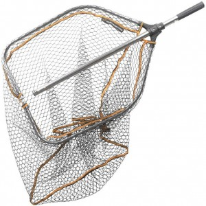 Podberák SAVAGE GEAR Pro Folding Rubber Large Mesh Landing Net