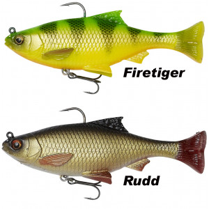 Nástraha SAVAGE GEAR 3D Pulse Tail Roach 13cm
