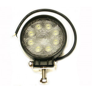Pracovný okrúhly svetlomet LED 8 - 30 V