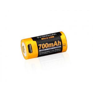 Dobíjacia USB batéria FENIX RCR123A Li-ion