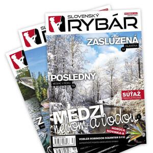 Predplatné časopisu Slovenský RYBÁR